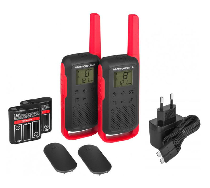 Рации Motorola TALKABOUT T62 RED TWIN PACK