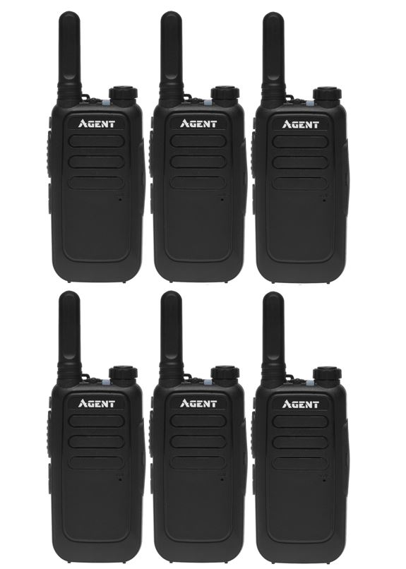 Рации AGENT AR-T15 SIX PACK